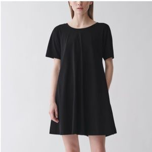 Cos Black T Shirt A line Dress